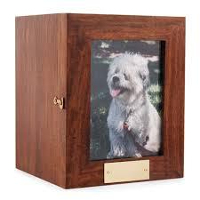 portrait photo frame pet timber urn pet urns pet cremation urn