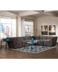 Modular Sectional Sofa Pieces Roxanne Fabric 5 Piece Modular Sectional Sofa 3 Corner Units U0026 2