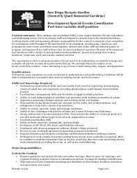 event planner job description host resume hostess job description