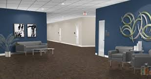 paint colors for office walls navy wall color works with existing tan and gray work