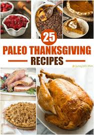 25 paleo thanksgiving recipes
