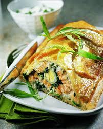 cuisiner le dimanche pour la semaine recette koulibiac de saumon