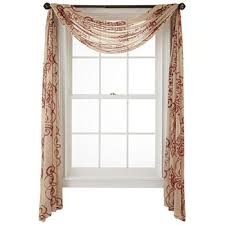 Window Scarf Valance Holders Scarf Valances Curtains U0026 Drapes For Window Jcpenney