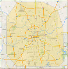 Kansas City Metro Map by John The Plumber Kansas City Service Area 816 527 8290