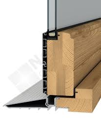 Patio Door Threshold Detail Wooden Fold And Slide Doors And Aluminium Clad Fold And Slide Doors