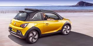 opel vauxhall opel adam rocks revealed funky compact crossover performancedrive