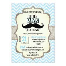 mustache baby shower is on his way mustache baby shower card zazzle