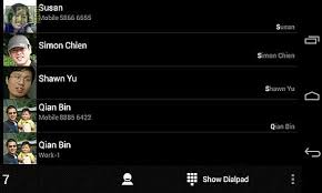 android ics exdialer black ics theme for android free at apk here
