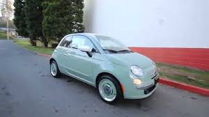 2015 fiat 500 1957 edition light green ft570682 redmond