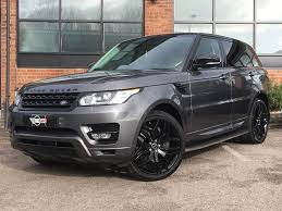 range rover sport diesel used grey land rover range rover sport for sale leicestershire