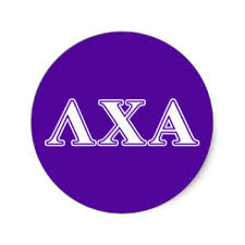 lambda chi alpha stickers zazzle