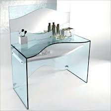 Black Glass Top Computer Desk Black Glass Computer Table Uk Glass Top Computer Desk With