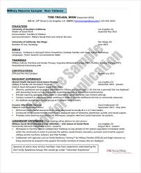 Examples Of Military Resumes by Social Work Resume Template Resume Templates 2017 Social Worker