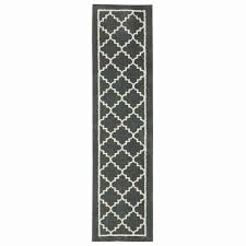 home decorators collection winslow dark slate 2 ft x 8 ft rug