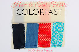 Color Fastness To Washing - color fastness how to test fabric for sewing treasurie