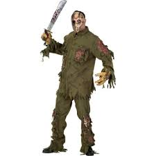 jason costumes deluxe jason friday 13th adults costume
