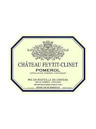 Conservation Vin Rouge Château Feytit Clinet Pomerol U2013 Chateau Com