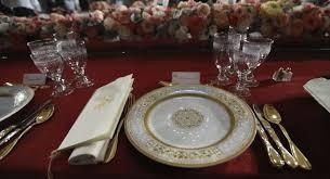 inaugural luncheon head table scenes from trump s opulent capitol lunch politico