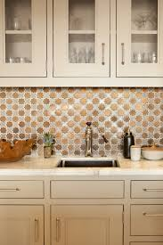 metal tiles in backsplash hermosa beach kitchen cultivate