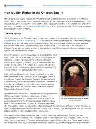 Ottoman Empire Laws Non Muslim Rights In The Ottoman Empire Ottoman Empire Sharia