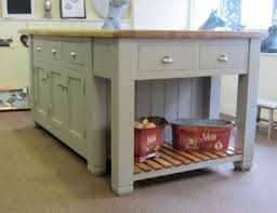 free standing kitchen island units ex display murdoch troon freestanding painted pine kitchen island