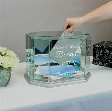 wedding money wedding money card box personalized gift box octagon small