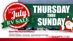 rv sale giant recreation world july 20 23 2017 youtube