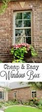 Diy Railing Planter Box by Best 25 Window Planters Ideas On Pinterest Window Boxes Window
