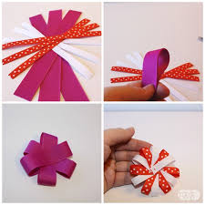 how to make hair bow how to make hair bows with a ribbon mix the ribbon retreat
