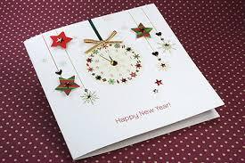 newyear card new year card new year clock