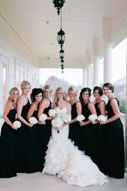 black bridesmaid dresses picture of stylish black bridesmaids dresses