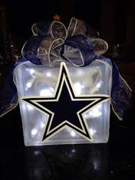 dallas cowboys christmas lights dallas cowboy fans glass block dallas cowboys pinterest glass