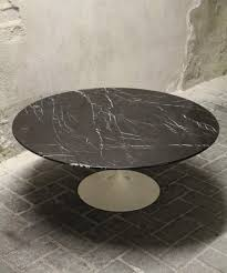 vintage black tulip coffee table by eero saarinen for knoll