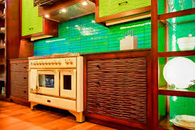 colorful kitchen backsplash 12 colorful kitchens that will inspire you page 2 of 2 zee designs