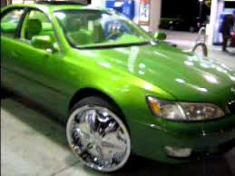 lexus green lexus green on 22 dub