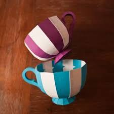 decorate your own tea cup i ve created this paper template and tutorial so that you can