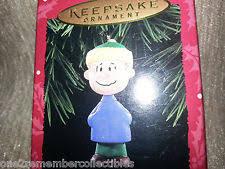 hallmark keepsake 1995 linus ornament a brown