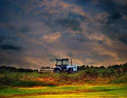 Wisconsin landscapes images Wisconsin landscape white tractor photograph by ms judi jpg
