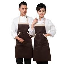 vetement pro cuisine le tablier chasuble de cuisine un vêtement pro aux accents féminins