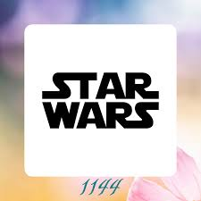 logo star wars reusable craft stencil