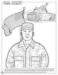 armed forces coloring page free download