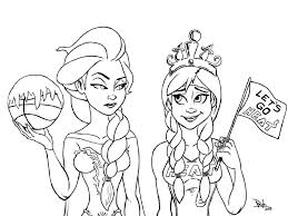 frozen coloring sheets print free book printables pages