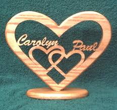 Personalized Wedding Plaque Wooden Personalized Love Heart Anniversary Plaque Wedding Plaque