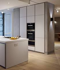 Miele Kitchen Cabinets The Sleek Handleless Beauty Of A Bulthaup B1 Kitchen In Alpine
