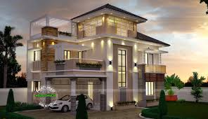 3 storey house unusually modern three storey house home design