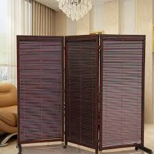 Japanese Screen Room Divider Wood Folding Screens Room Dividers With Caster Japanese Style