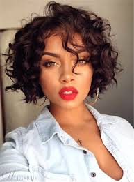 hairstyle short curly synthetic capless african american