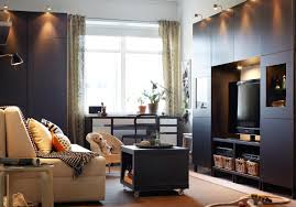 Traditional Tv Cabinet Designs For Living Room Traditional Living Room In Black And White With A Tv Bench With