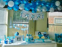 boy baby shower theme 3 great themes with baby shower decorations for boy ideas blogbeen