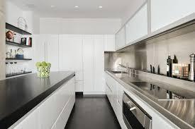 modern white kitchens modern white kitchen galley normabudden com